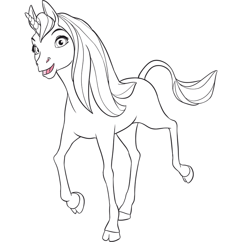 Mia And Me Coloring Pages - Coloring Pages Ideas & Reviews